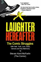 Cover for 'Laughter Hereafter - The Comic Struggles'