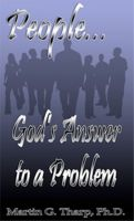 Cover for 'People...God's Answer to a Problem'