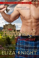 Cover for 'The Highlander's Conquest'