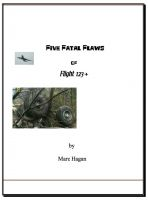 Cover for 'Five Fatal Flaws of Flt123'