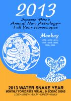 Cover for '2013 The Monkey - Suzanne White's Annual Horoscopes for the Monkey'