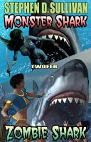 Cover for 'Monster Shark - Zombie Shark - Twofer'