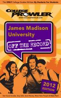 Cover for 'James Madison University 2012'
