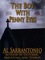 Cover for 'The Boy With Penny Eyes'