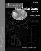 Cover for 'Portraits of African American Leaders Volume I: Student Edition'
