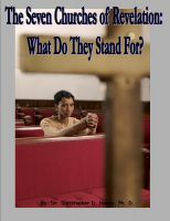 Cover for 'The Seven Churches of Revelation: What Do They Stand For?'