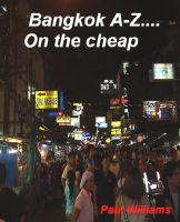 Bangkok A-Z... on the cheap cover