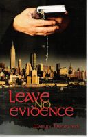 Cover for 'Leave No Evidence'