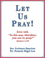 Cover for 'Let Us Pray!: Study of The Lord's Prayer and Other Bible Prayer'