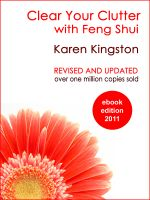 Cover for 'Clear Your Clutter with Feng Shui'