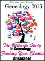 Cover for 'Genealogy 2013 The Ultimate Study In Genealogy Finding Your Elusive Ancestors'