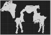 Cover for 'Cow 4 Cross Stitch Pattern'