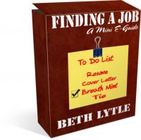 Cover for 'Finding a Job:  A Mini E-Guide'