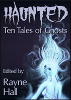 Cover for 'Haunted - Ten Tales of Ghosts'