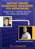 Cover for 'Instant Online Marketing Strategies for Networkers (The Leveraging Interviews)'
