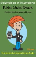 Cover for 'Scientists 'n' Inventions : Kids Quiz Book Scientists Inventions'