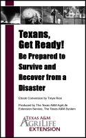 Cover for 'Texans, Get Ready! Be Prepared to Survive and Recover from a Disaster'