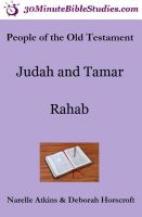 Cover for 'People of the Old Testament: Judah and Tamar, Rahab'