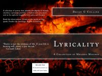 Cover for 'Lyricality: A Collection of Melodic Musings'
