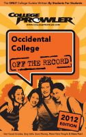 Cover for 'Occidental College 2012'