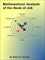Cover for 'Mathematical Analysis of the Book of Job'