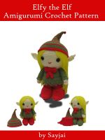 Cover for 'Elfy the Elf Amigurumi Crochet Pattern'