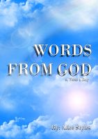 Cover for 'WORDS FROM GOD, a verse a day'