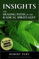 Cover for 'INSIGHTS: The Healing Paths of the Radical Spiritualist'