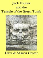 Cover for 'Nate Hunter and the Temple of the Green Tomb'