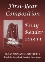 Cover for 'First-Year Composition Essay Reader'