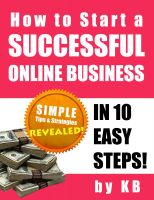 Cover for 'How to Start a Successful Online Business in 10 Easy Steps'