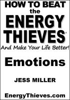 Cover for 'How To Beat The Energy Thieves And Make Your Life Better - Emotions'