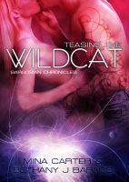 Cover for 'Teasing the Wildcat by Mina Carter & Bethany J. Barnes'