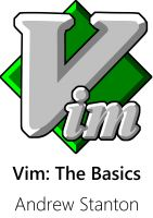 Cover for 'Vim: The Basics'