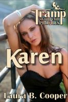 Cover for 'Tramp Stamp Club Profiles:  Karen (Erotic / Erotic Romance / Bisexual / Couple Play)'