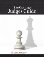 Cover for 'LawCrossing's Judges Guide'