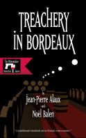 Cover for 'Treachery in Bordeaux'