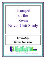 Cover for 'Trumpet of the Swans Novel Unit Study'