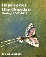 Cover for 'Hope Tastes Like Chocolate - Musings 2002-2012'