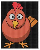 Cover for 'Chicken 2 Cross Stitch Pattern'