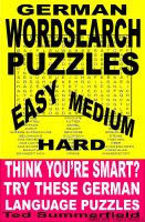 Cover for 'German Word Search Puzzles'