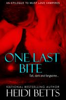 Cover for 'One Last Bite'