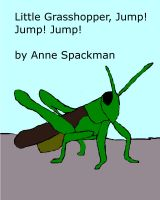Cover for 'Little Grasshopper, Jump! Jump! Jump!'