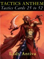 Cover for 'TACTICS ANTHEM: Tactics Cards 25 to 52'