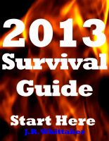 Cover for '2013 Survival Guide - Start Here'