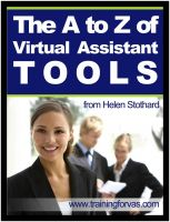 Cover for 'The A to Z of Virtual Assistant Tools'