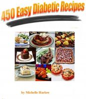 Cover for '450 Easy Diabetic Recipes'