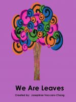 Cover for 'We Are Leaves'