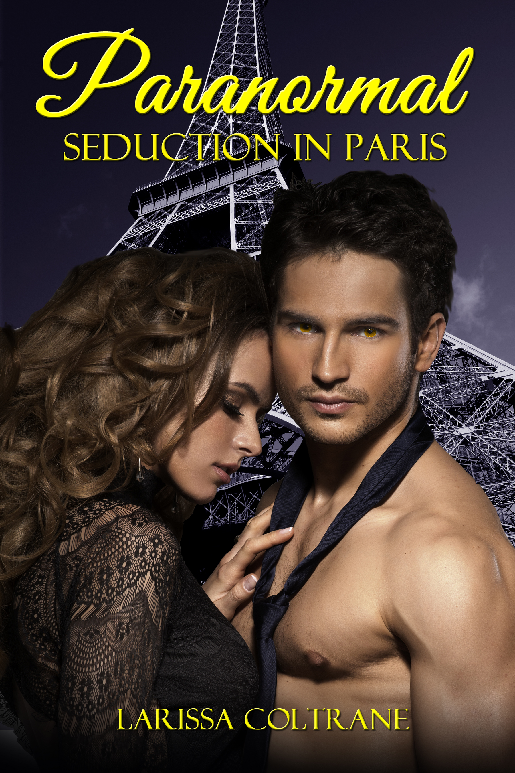Larissa Coltrane - Paranormal Seduction in Paris (BBW Paranormal Erotic Short Romance - New Adult (NA) - Werewolf Mate)
