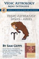 Cover for 'Vedic Astrology Sign Intensive - Mesha Aries'
